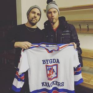 Stiko Per Larsson och Jens Bergenström Foto: Privat.