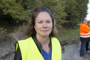 Lena Blad är tillförordnad vd för Gästrike Vatten AB.