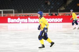 Stefan Johansson spelade i legendarmatchen på Friends Arena inför den stora finalen.