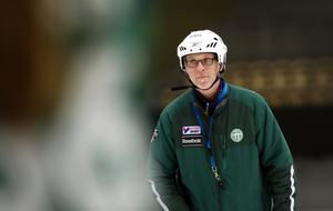 Tränare Johan Hedfors.