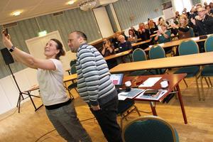 Anna Styf och Ali Ayrouta pratade om vikten av kompetensmatchning.