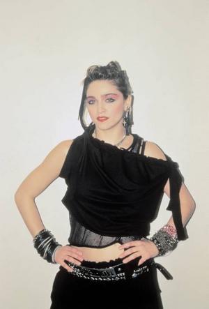 En punkig ung Madonna 1985.