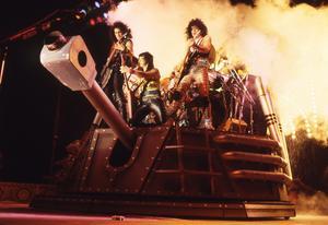 Kiss live på 80-talet.