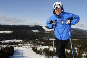Magnus Noppa är marknads- och försäljningschef på Kläppen Ski resort.