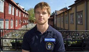 Jonas Partheen, polisens presstalesman.