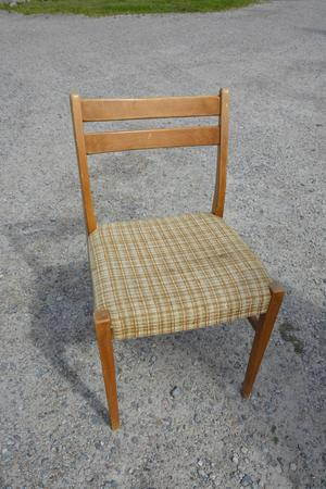 Den tredje stolen som levererades från familjen Wallmark.
