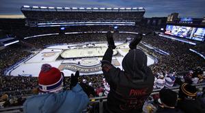 67000 åskådare såg Montreal vinna Winter Classic mot Boston.