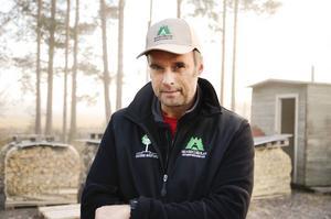 Mikael Boman, samordnare för organisationen Skogen i skolan.
