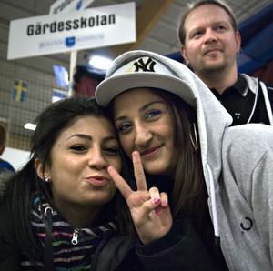 Leyla Demircan, Cherin Izoli och Tommy Algotsson.