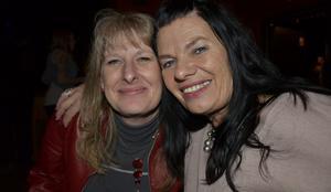 Vi var där. Wenche Mevik och Rita Gulliksen.