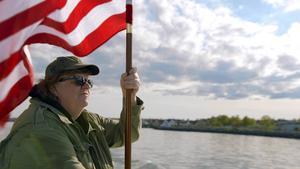 Michael Moore på väg att invadera.