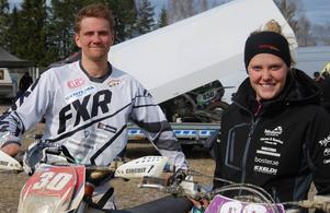 Martin Larsson och Amanda Elvin är två hälsingehopp, båda med bra kapacitet.