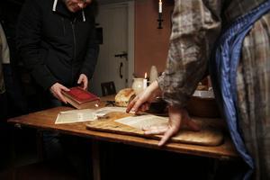 För den som var nyfiken på hur man lagade mat på 1800-talet fanns det ett recept från en gammal kokbok vartifrån en kunde få ett recept på grönsakssoppa.