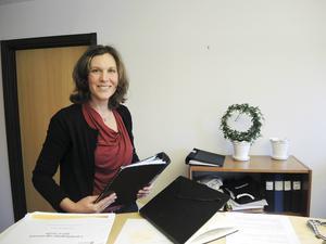 Statsministerns löfte om ett statligt servicekontor i Vansbro gläder kommunalrådet Stina Munters (C).