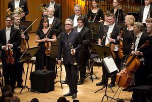 Möte med en världsmästare. Trumpetaren Håkan Hardenberger spelade både klassisk och nutida musik i Västerås konserthus.