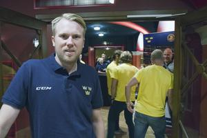 Johan Andersson, Tre Kronors videocoach.