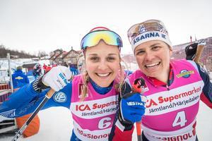 Efter en tajt final och målfoto segrade Stina Nilsson i Supersprinten.
