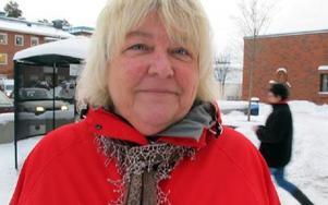Ingmarie Sävström:-- Ja, om jag blir erbjuden på jobbet. Jag jobbar i vården i kommunen.