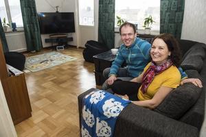 I slutet på april startar renoveringen och Caisa och Håkan Eriksson är förväntansfulla.