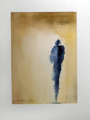 """BLÅRÖKIG. """"Motljus"""" av Janet Sjölin."""