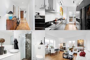 På Parkgatan 5 i Falun ligger den här totalrenoverade lägenheten med tre rum där utgångspriset är nästan 2,5 miljoner kronor.