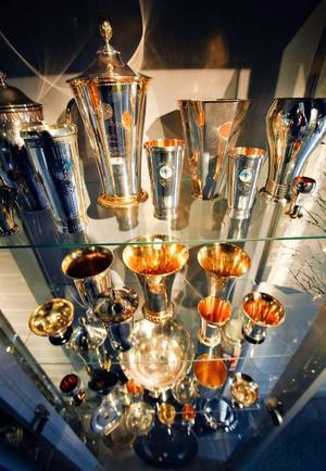 Lars Theodor Jonssons prissamling visas på hembygdsmuséet i Strömsund