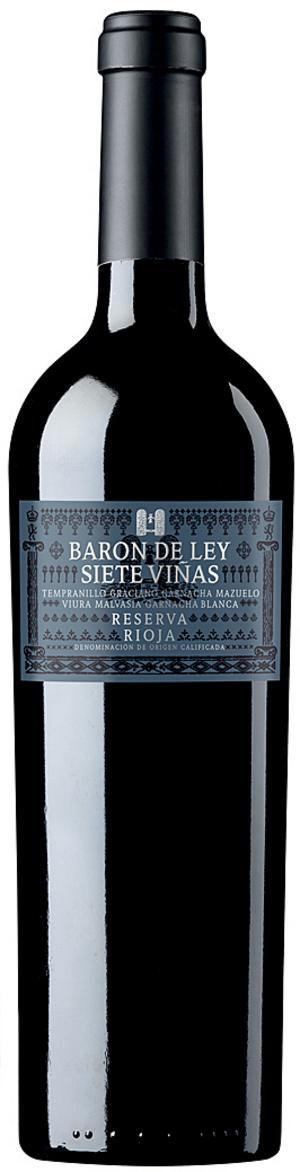Baron de Ley Siete Viñas Reserva 2010.