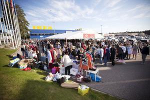 STORLOPPIS. Sveriges största säger Ikea. I Valbo fanns det omkring 80 försäljare.
