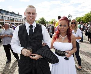 Robert Sunnebrandt och Isabel Danis.