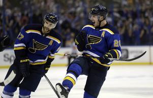 Alexander Steen och hans St. Louis är i semifinal. Nu är Steen på väg mot sin största framgång i Stanley Cup i NHL-karriären.