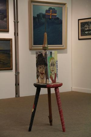 Anderserik Sköld finns med på utställningen med två verk.
