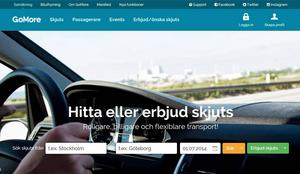 GoMore är Nordens största portal för privat samåkning. Den hållbara rörelsen startades av danska studenter år 2005. Mer än 130 000 användare möts på GoMores hemsida för att arrangera billig och miljövänlig transport. Under en vanlig helg reser mellan 2 000 och 3 000 skandinaver med GoMore.