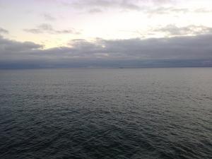 Grått på Ålands hav.