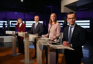 Ulf Kristersson gör sin första partiledardebatt som ledare för Moderaterna.