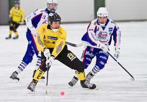 Sebastian Brandt stod för ett av ÖSK:s två mål i förlustmatchen mot Tranås.