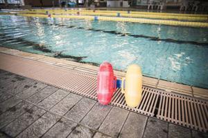Det är viktigt att man tidigt börjar vänja sig vid vatten.