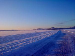 Bifogar en bild från medvinden en kall vinterdag, bilden är tagen 090202, skriver Erik Johansson.