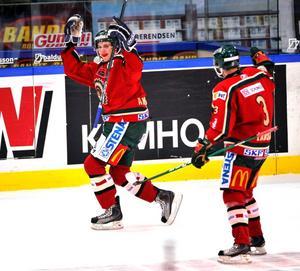 Andersson i Frölundas tröja under förra säsongen.