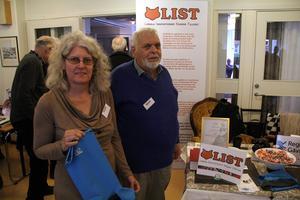 Kerstin Lönngren och Sven-Göran Larsson från uppfinnareföreningen LIST.