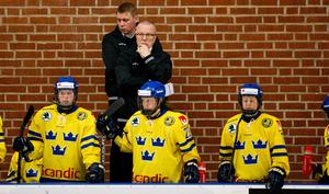 Förbundskapten Leif Boork fick se sina damkronor förlora mot Schweiz med 1–5.