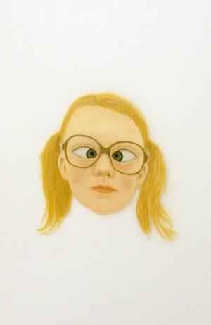 Rebecca Burkhalters konst är både snygg och lite hotfull...
