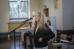 Kristina Lugn hade inte skrivit en enda dikt om hon vuxit upp i Hälsingland.