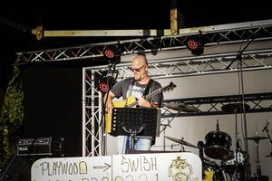 Mikael Ivarsson var en av artisterna vid årets Playwoodfestival.