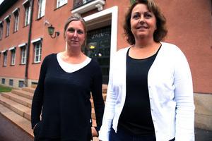 Caroline Smitmanis Smids, utvecklingschef Mora kommun och Ulla Karlsson, näringslivsutvecklare utvecklingsenheten Mora kommun.