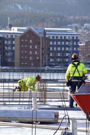 Sundsvall 3 mars: Flera nya byggen ska startas under året.