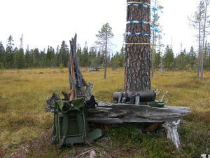 Detta är beläget norr om Vemdalen med fin utsikt mot fjällen och Tvärån inom räckhåll. Mvh Bertil