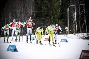 Herrtäten in mot varvningen och spurtpriset i Edsåsdalen – här var Daniel Richardsson inte alls med i bilden.