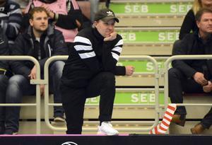 Thomas Brottman, IBF Faluns tränare, önskade mer av sitt lag på onsdagskvällen.