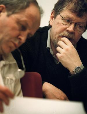 Tony Glans, till höger.