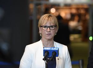 Utrikesminister Margot Wallström (S) betonar att Fikru Maru är etiopiska myndigheters ansvar.